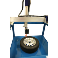 Tire identification system for Bytewise measurement systems