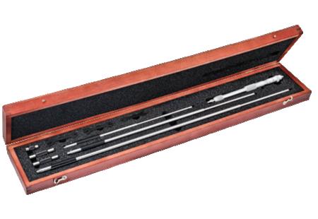 124MCZ Solid Rod Inside Micrometer Set
