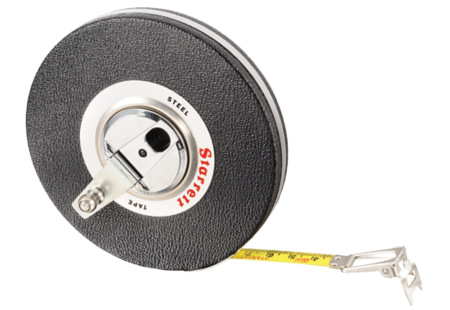 530-30CM Steel Long-Line Measuring Tape Metric
