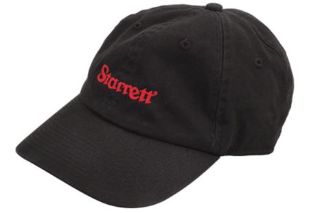 BBC; STARRETT BASEBALL CAP-BLACK