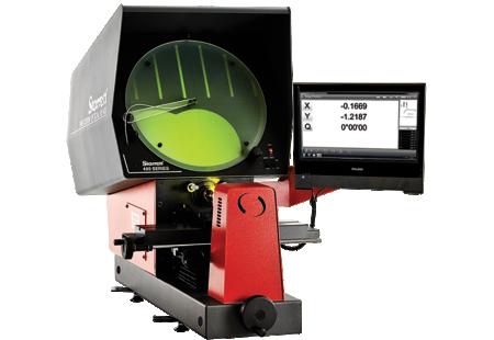HE400-M2E Horizontal Benchtop Optical Comparator