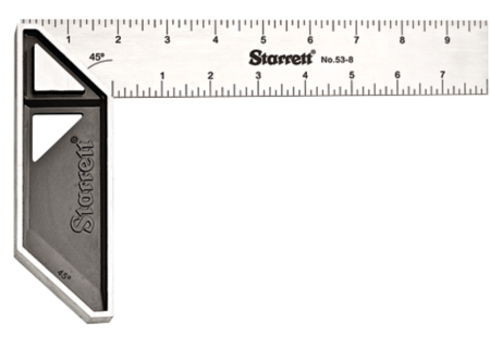 53-8 Stainless Steel Carpenter Try Square