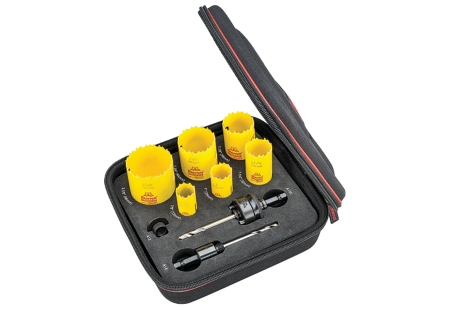KDC06034-N Doorlocks/Locksmiths Deep Cut Holesaw Kit