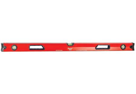 "Starrett Exact LBX48-1 Heavy Duty Magnetic Aluminum Box Beam Level; 48""/120cm"