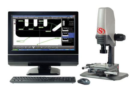 KMR-50-D1 KineMic with 50 mm Micrometer Stage and D1 Software