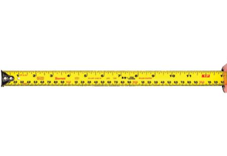 KTX1-26ME12-OC Starrett Exact Tape Measure Tape Grads