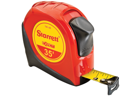 TX1-35 Starrett Exact Tape Measure