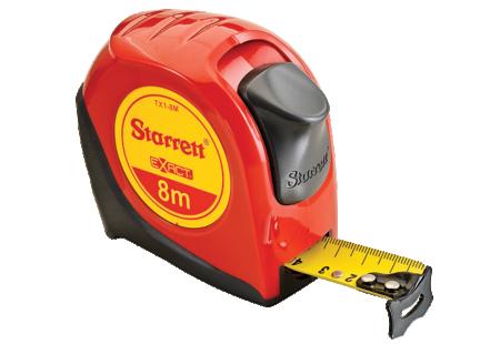 TX1-8M Starrett Exact Tape Measure