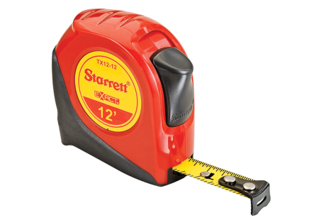 TX12-12 Starrett Exact Tape Measure