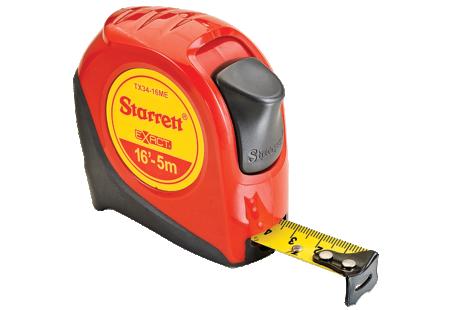TX34-16ME Starrett Exact Tape Measure