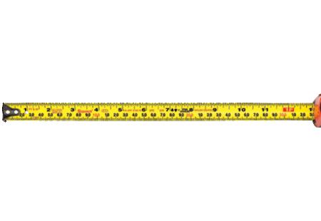 KTX34-16ME12-OC Starrett Exact Tape Measure Tape Grads