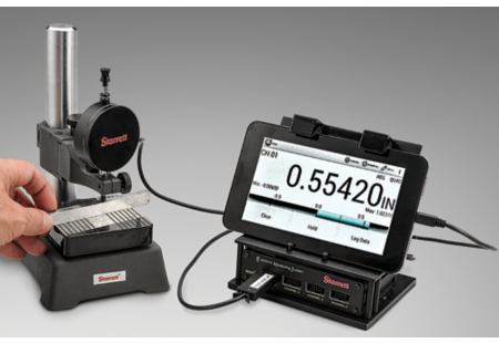 RMS4 readout/data collection system with tablet, software MUX box;  application