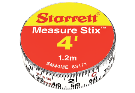 SM44ME Measure Stix Steel Measuring Tape with adhesive backing